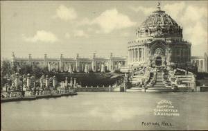 1904 Louisiana Purchase Expo Mogul Egyptian Cigarettes Advertising Postcard 7