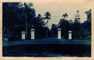SINGAPORE PC Entrance Botanical Garden (a1443)