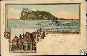 Gibraltar, The Rock from N.W., The Convent (ca. 1899)