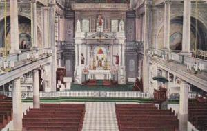 Louisiana New Orleans Interior Of St Louis Cathedral 1940