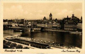 CPA AK Frankfurt Am Eisernen Steg GERMANY (1017676)