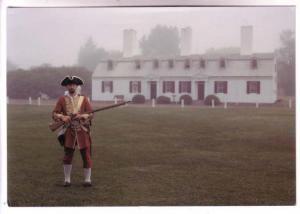 British Officer, 40th Regiment of Foot, Fort Anne Historic Site, Nova Scotia,...