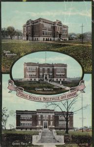 BELLEVILLE , Ontario, Canada, 1908 ; Public Schools