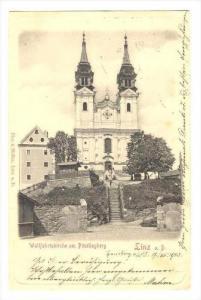 Linz a. D. , Austria  PU-1903   Wallfahrtskirche am Postlingberg
