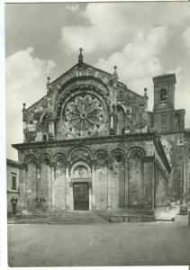Italy, TROIA, Basilica Cattedrale, Monumento Nazionale XII sec, unused RP