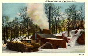 VT - Maple Sugar Making