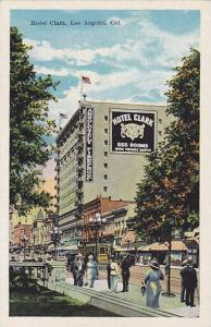 Street view showing Hotel Clark, Los Angeles, California, 00-10s