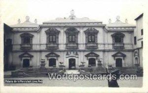 Palacio de la Perricholi Lima, Peru Unused
