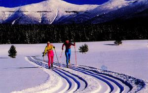 NH - White Mountains. Cross-Country Skiing