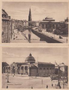 Thorvaldsens Museum Glyptoteket Denmark Copenhagen Antique Postcard