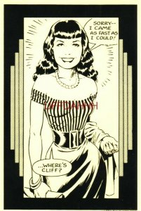 Continental-size 1982 DAVE STEVENS - BETTY: WHERE'S CLIFF?
