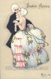 Series 164 Sofia Chiostri, (Fofi) (Italy) Artist Signed Unused