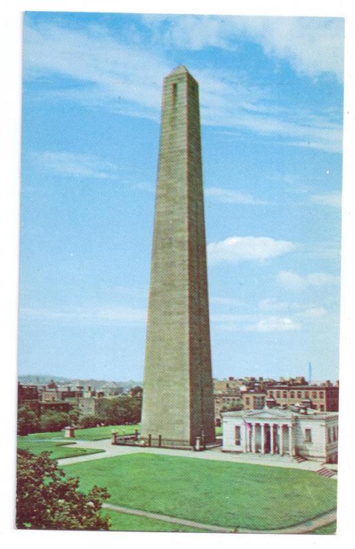 Bunker Hill Monument Charlestown Massachusetts MA