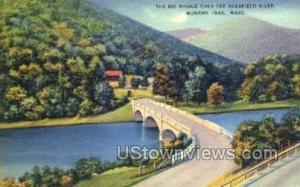 The Big Bridge Mohawk Trail MA Unused