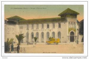 Casablanca.-Morocco.-Banq ue  d'Etat du Maroc, 1910s