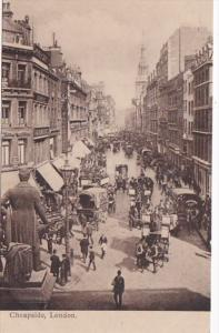 England London Cheapside Street Scene