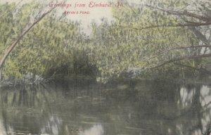 ELMHURST, Illinois, PU-1907; Bryan's Pond