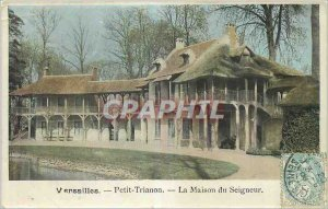 Postcard Old Versailles Petit Trianon The House of the Lord