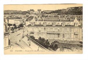 Perspective Du Boulevard Carnot, La Prefecture, L'Eglise St-Christophe, Belfo...
