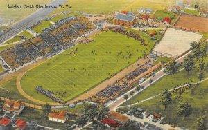 LAIDLEY FIELD Sports Arena Stadium West Virginia Charleston, WV Postcard c1940s