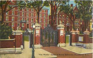 Van Wickle Gates at Brown University Providence Rhode Island