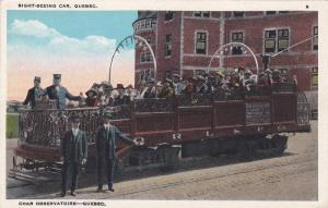 Sightseeing car , Quebec , Canada , 1910s