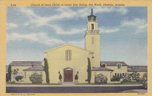 PHOENIX , Arizona, 30-40s; Church of Jesus Christ of Latter Day Saints , 3rd War
