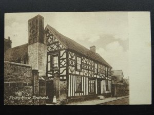 Worcestershire DROITWICH Priory House c1914 Postcard by A. Charlwood