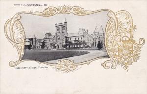 University College, Toronto, Ontario, Canada, 1900-1910s