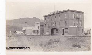 RP: Street view , Caribou Hotel , CARCROSS , Yukon , Canada , 1910s
