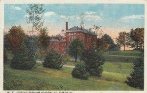 ST. JOSEPH, Kentucky , 1900-10s ; Mt. St. Joseph's Ursuline Academy