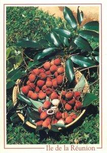 Reunion fruits postcard