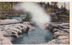 Oblong Geyser, Yellowstone National Park,Wyoming,  00-10s