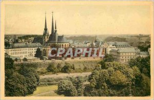 Postcard Modern Luxembourg