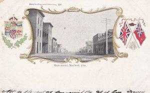 MACLEOD , Alberta, Canada, PU-1907 ; Main Street
