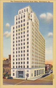 Louisiana Shreveport Commercial National Bank Building Curteich