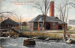 Rhode Island  Providence   Pumping Station, Hunts Mills