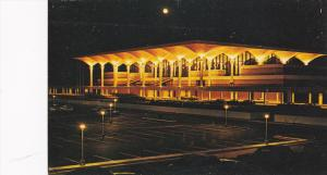 Night View, Memphis International Airport, Memphis, Tennessee, 40-60´s