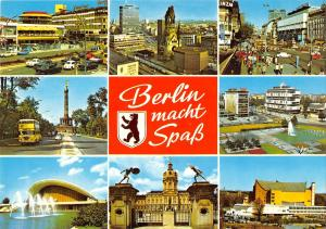 GG11706 Berlin macht Spass Kirche Schloss Opera House Church Castle Cars Auto