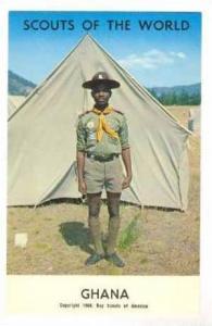 Ghana Boy Scout, 1968