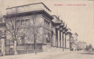 Belgium Brussels Palais des Beaux Arts 1919