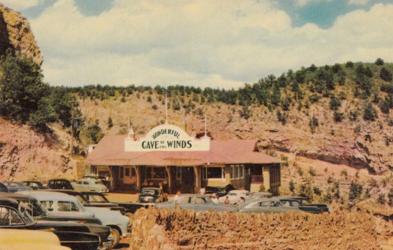 MANITOU, Colorado, 1940-60s; Entrance Pavilion, Cave of the Winds
