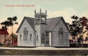 St Cloud Florida Presbyterian Church Antique Postcard J64546