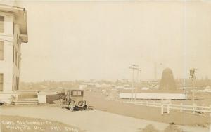 RPPC  MARSHFIELD, Oregon OR   COOS BAY LUMBER Company Logging  c1930s   Postcard