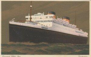 Cunard Whote Star Ocean Liner Britannic , 1920-30s