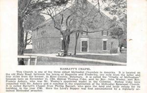DE, Delaware  BARRATT'S CHAPEL~Old State Road  KENT COUNTY  c1900's UDB Postcard