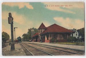 C.R.I.& P. Station, Iowa City IA