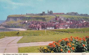 WHITBY, Yorkshire, England, 1950-1960s; The Abbey And East Cliff