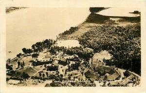 Aerial View Chateau Seigniory 1933 Canada RPPC Photo Postcard 3498