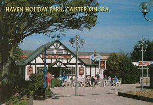 Haven Holiday Park Pub Fish & Chips Shop Caister On The Sea Norfolk Postcard